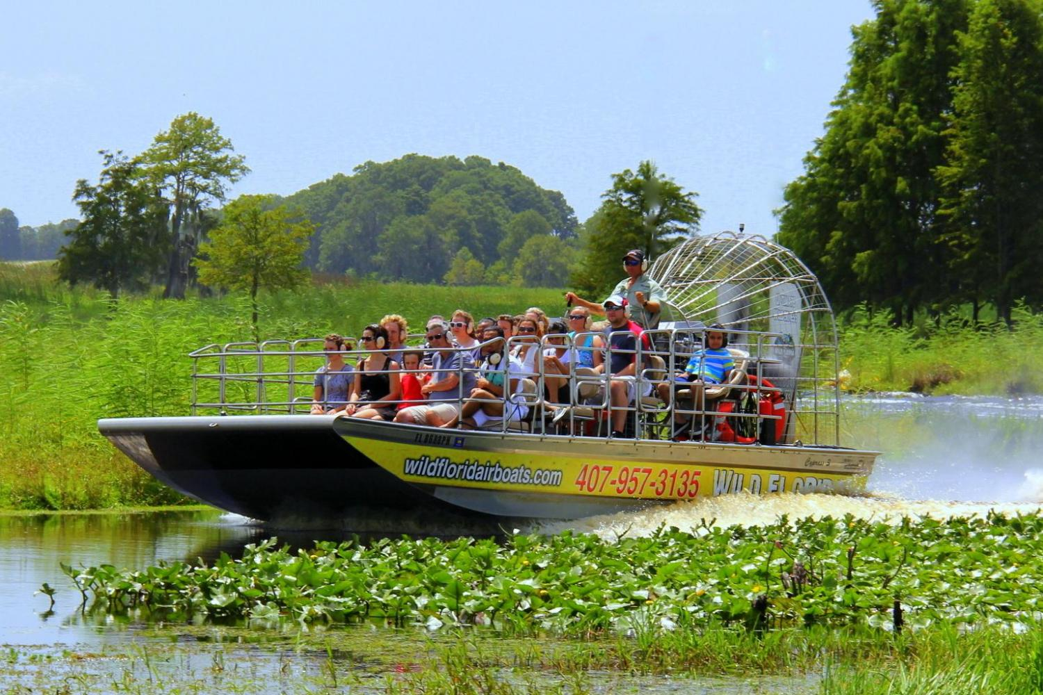 Everglades Airboat Tour Wahooa Watersports